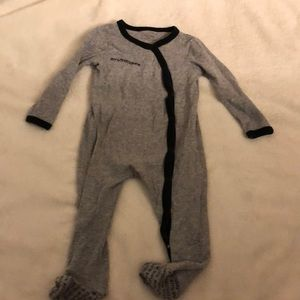 Calvin Klein baby footie pj